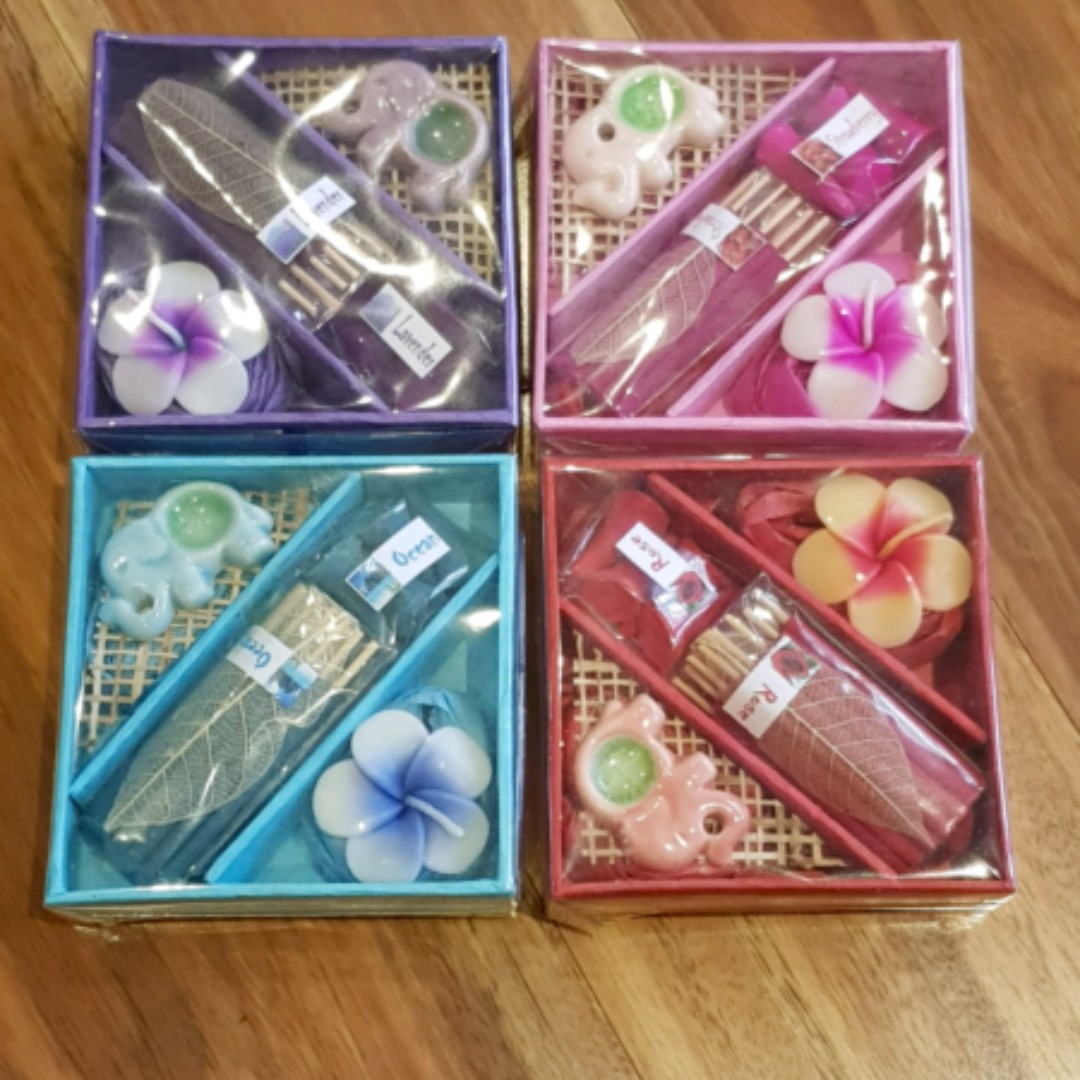 Thailand scents gift sets