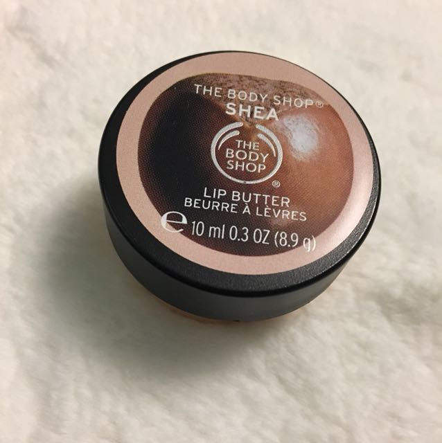 The body shop lip butter