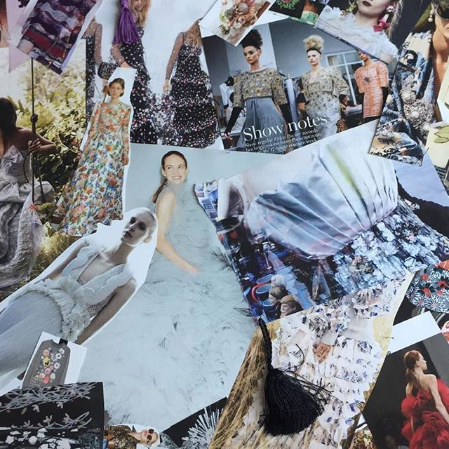 Themed fashion mood boards