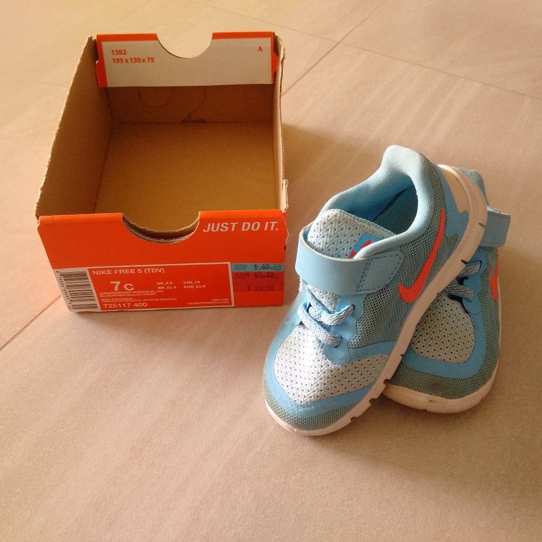 huge discount d1a79 845a0 Toddler boy - NIke Free 5 running shoes!