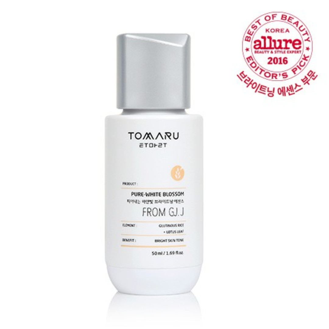 Tomaru Pure White Blossom Brightening essence