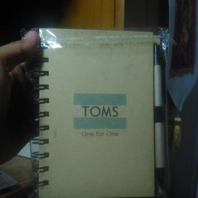 Toms Mini Notebook