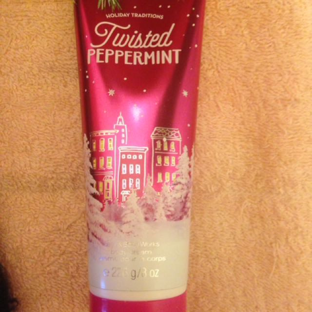 Twisted Peppermint Lotion