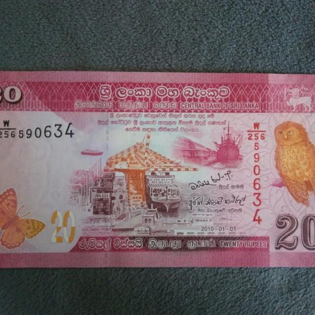 Uang asing baru 3 lembar