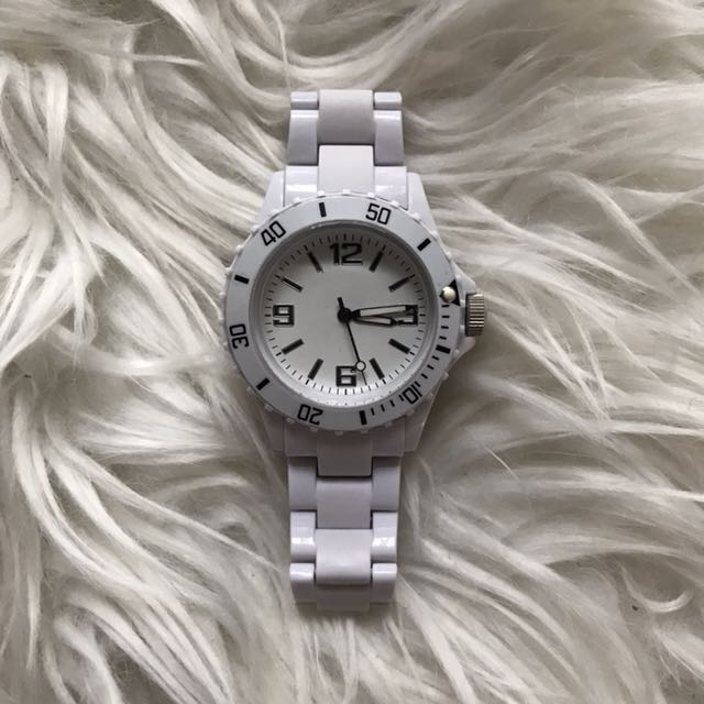White Fashion Watch
