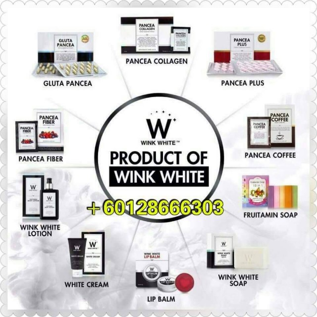 Wink White Products (Original) (ReadyStock)