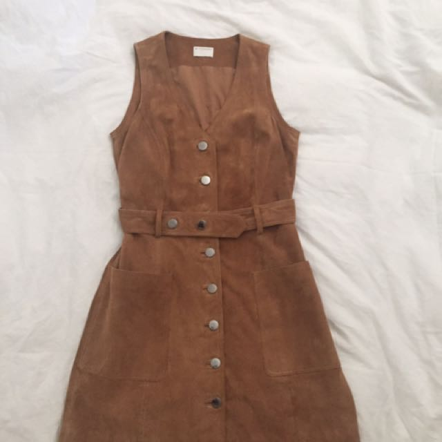 Witchery Real Suede dress