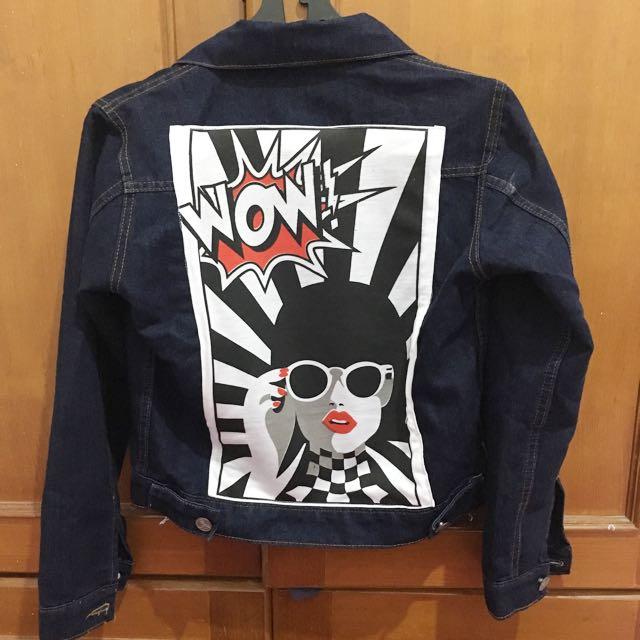 Wow jeans jacket