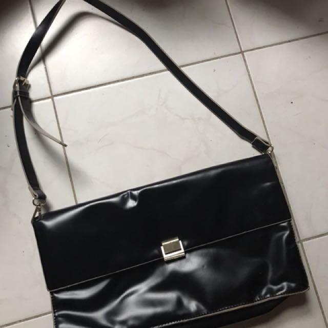 Zara Clutch / Bag Black