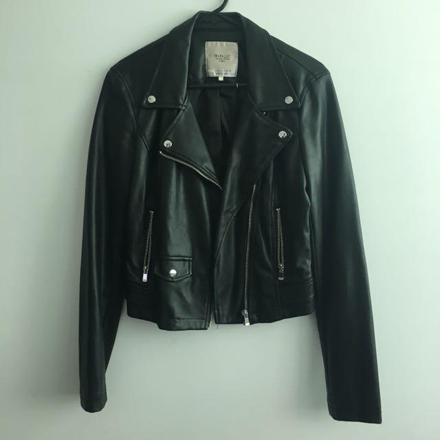 Zara leather jacket (Size S)
