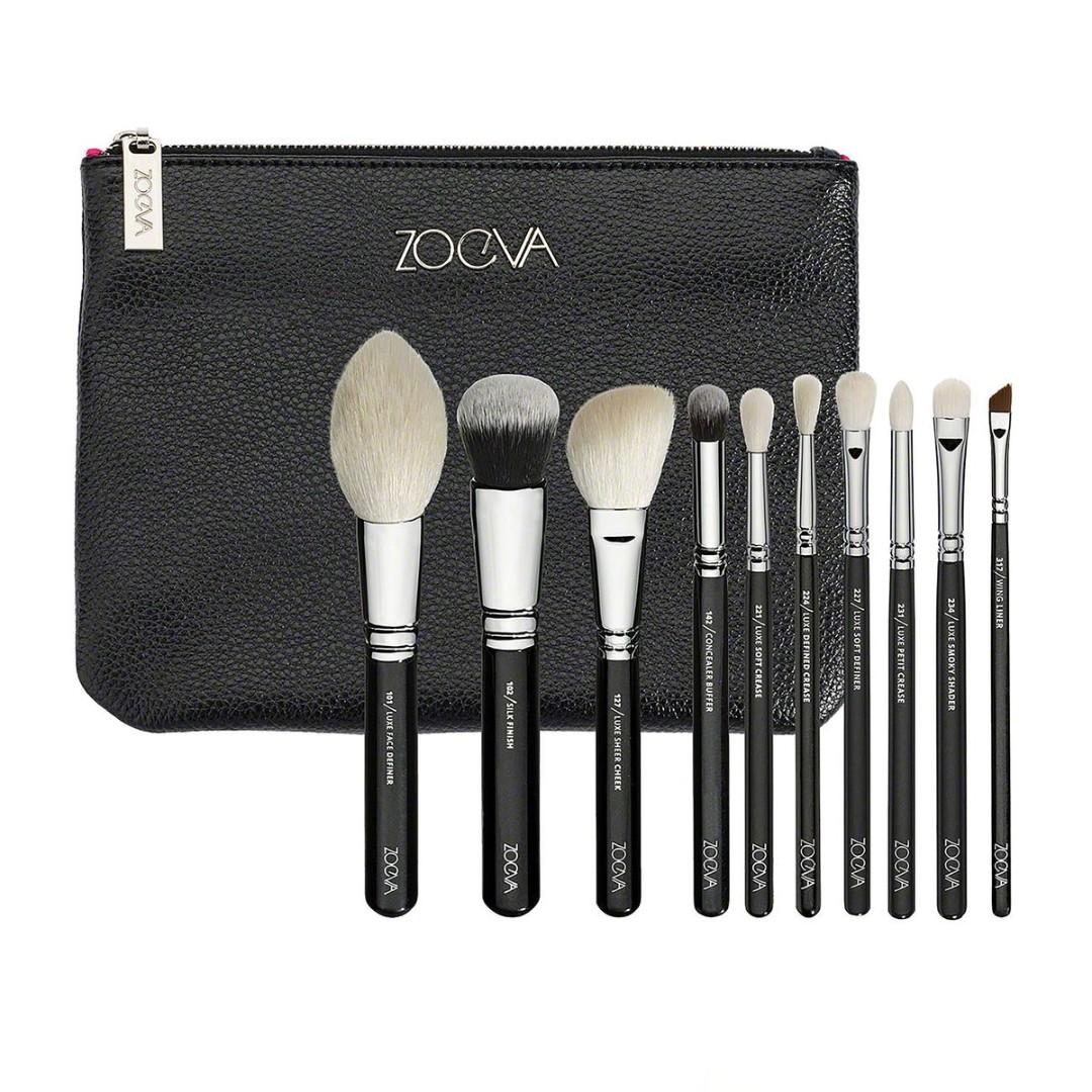 Zoeva 10pc luxe makeup brush set