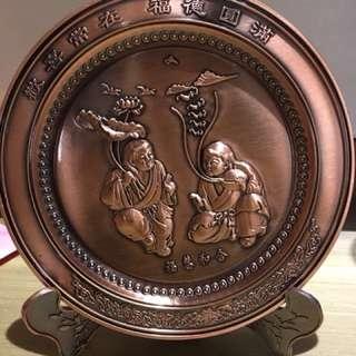 和合二仙紀念銅牌