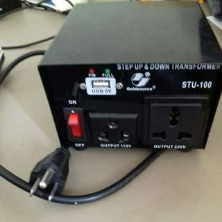 Goldsource step up & down transformer