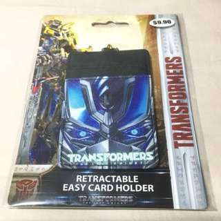 Transformers Retractable Easy Card Holder