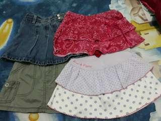 Secondhand branded kiddies apparel