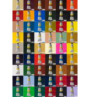 Winsor Newton Galeria Acrylic Paint 60ml Tube All colours