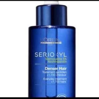 Loreal serioxyl denser hair tonic 90ml- preCNY promo
