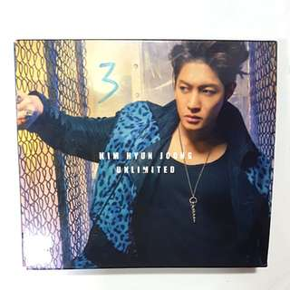 CD - Kim Hyun Joong - Unlimited