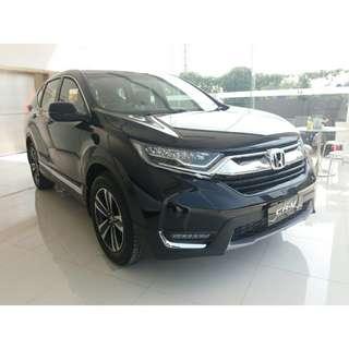Honda CRV 1.5 TURBO PRESTIGE nik 2017 ready stock