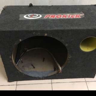 """Prokick 12"""" Custom Sub Box"""