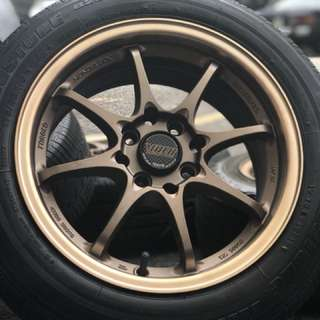 Ce28 thailand 15 inch sports rim city tyre 70%
