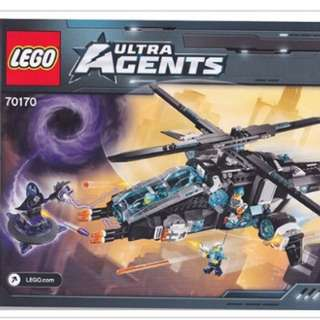 Lego 70170 Ultra Copter vs. Antimatter