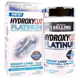 Hydroxycut, Hydroxycut Platinum, 60 Rapid-Release Capsules