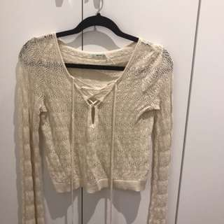 BNWOT Urban Outfitters - Kimchi crochet top