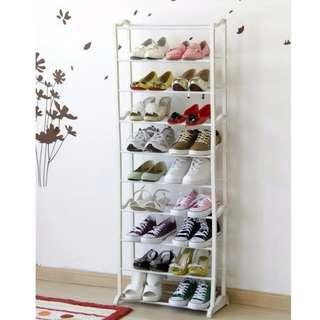 Amazing shoes rack 10 tingkat(rak sepatu ajaib)