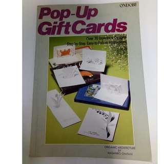 Pop-Up Gift Cards Paperback – November 1, 1988 by Masahiro Chatani (Author)