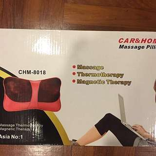 Car Home Massage Pillow( NEW)