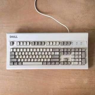 Rare Vintage DELL AT101W Mechanical Keyboard