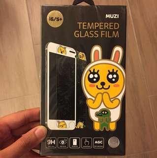 I6/s+ Kakao Friends Muzi Tempered Glass