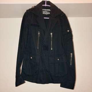Moussy SLY 黑色外套