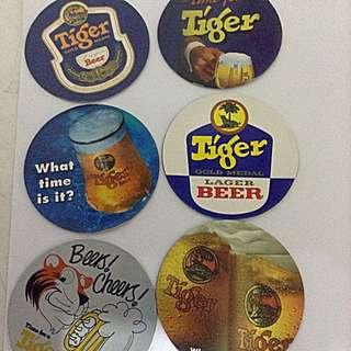 Old Tiger Beer Magnetic Discs