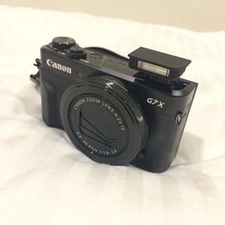 Canon PowerShot G7x Mark ii (64 GB Memory)