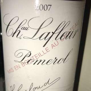 2007 Chateau Lafleur 長期存放紅酒櫃