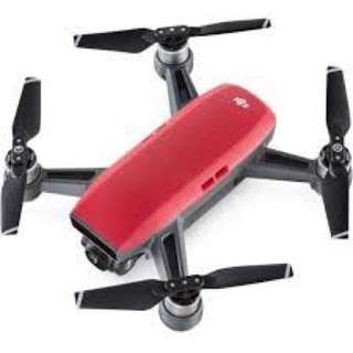 SPARK Fly More Combo (UK) Lava Red- DJI-6958265149443