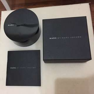 Marc by Marc Jacobs Watch Packaging (Box + Case + User's Manual)
