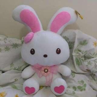 🚚 ✅含運✅ 🎈45cm優雅愛心兔兔🐰大娃娃