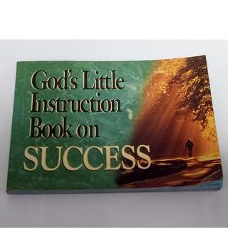 God's Little Instruction Book on Success (God's Little Instruction Books) Paperback – September 1, 1996 by Honor Books (Author)