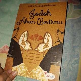 Buku Novel Dwitasari Jodoh Pasti Bertemu