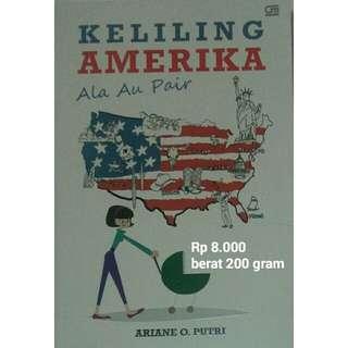 Buku Keliling Amerika karya Ariane O.Putri