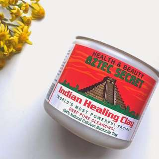 INSTOCK AUTHENTIC INSTOCK Aztec Secret Indian Healing Clay Facial