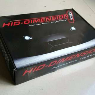 Bola lampu HID Dimension H1