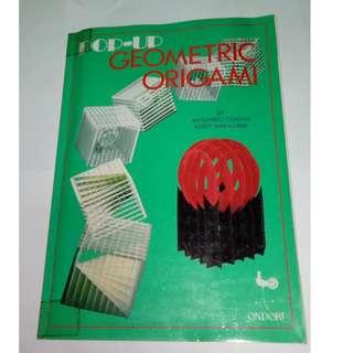 Pop-Up Geometric Origami ( Masahiro Chatani, Keiko Nakazawa Ondorisha, 1994 - Crafts & Hobbies - 85 pages )