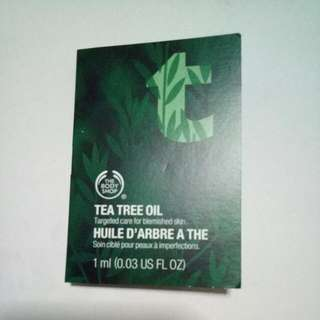BN The Body Shop Tea Tree Oil