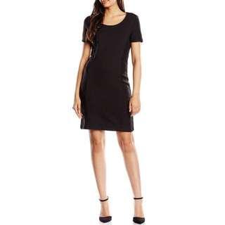 New! Esprit EDC Casual Jacquard Short-Sleeve Dresses 女裝提花布連衣裙 Size S (EU 36) 👩🏼👱🏻♀️