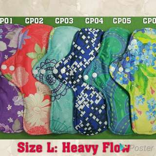 Qissara Bamboo Charcoal Cloth Pad