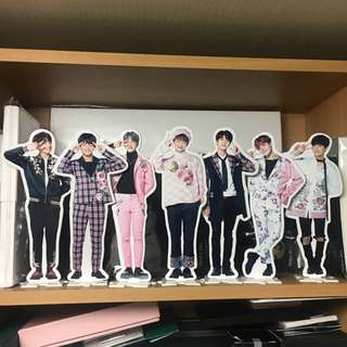 BTS Wings Japan Special Edition Paper Standee